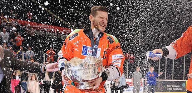 Congratulations Sheffield Steelers 2014-15 Elite League Champions