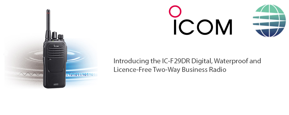 NEW ICOM PRODUCT RELEASE Icom IC-F29DR