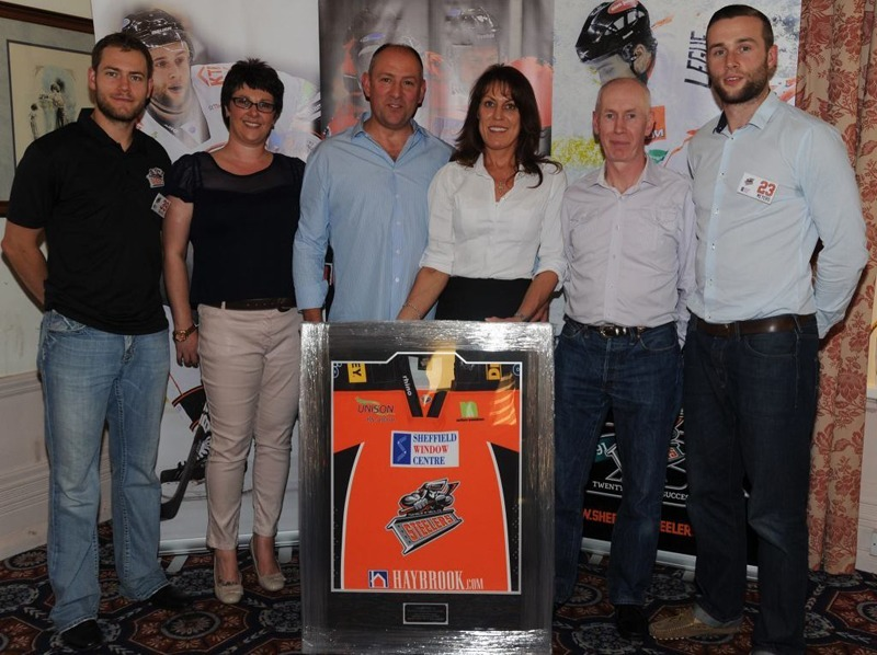 Murphy Comhire Limited at the recent Sheffield Steelers Shirt Launch!